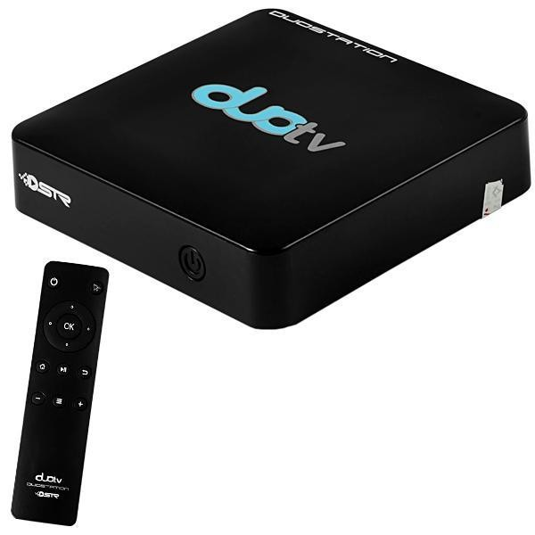 Receptor Duostation Duo TV Ultra HD 4K IPTV/Wi-Fi/HDMI